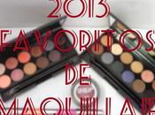 Maquillaje: Favoritos 2013