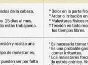 estrés laboral provoca daños salud trabajadores España