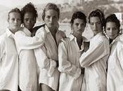 Mujeres camisa blanca hombre