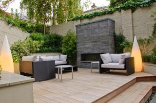 Lindos patios modernos minimalistas paperblog for Pisos para patios interiores