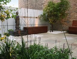 Lindos patios modernos minimalistas paperblog - Diseno de jardines minimalistas para casas ...