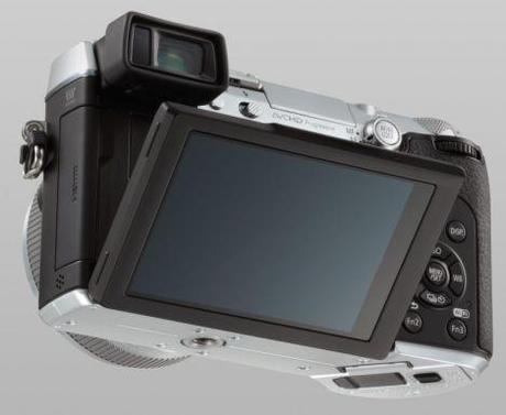 Panasonic Lumix DMC-GX7 pantalla