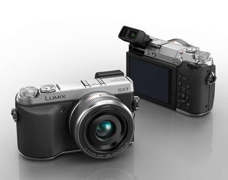 Panasonic Lumix DMC-GX7 vistas