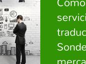 Curso: Cómo vender servicios traducción Sondeo mercado