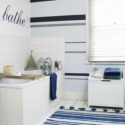 Decoraci n de ba os en una casa de playa paperblog for Arredo bagno marinaro