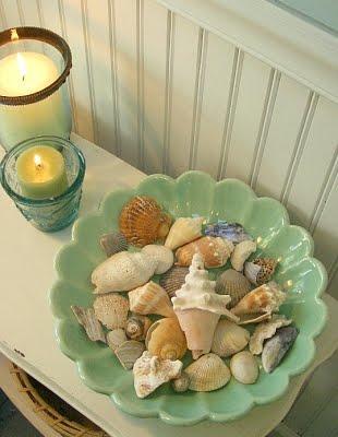 Decoraci n de ba os en una casa de playa paperblog - Decoracion con conchas ...