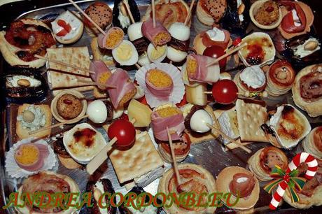 canaps variados seleccin de casi ideas de canaps aperitivos y entrantes para las comidas de navidad