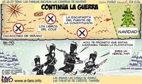 Humor y pequeño comercio - Compras navideñas en crisis - Andrés Faro Humorista
