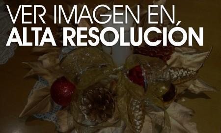 Centro de navidad casero paperblog - Centros navidad caseros ...