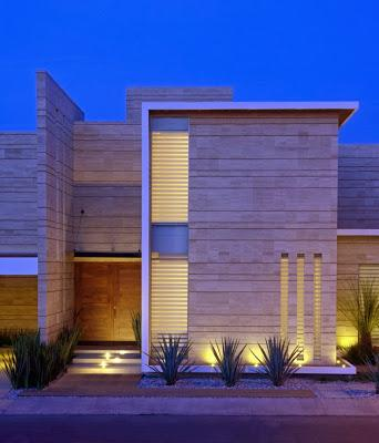 Casa minimalista en mexico paperblog for Viviendas minimalistas