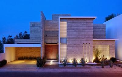 Casa Minimalista en Mexico Paperblog