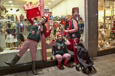 Getxoparis, duendes de la Navidad en Getxo - Promoción del pequeño comercio