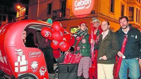 Getxoparis, duendes navideños para dinamizar el comercio local de Getxo