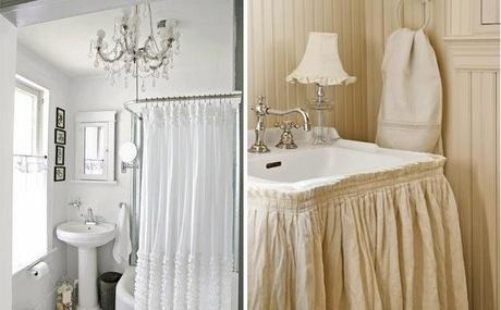 Tu baño al estilo shabby chic - Paperblog