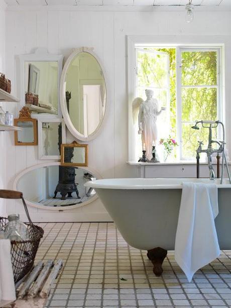 Baños Estilo Antiguo:Tu baño al estilo shabby chic – Paperblog