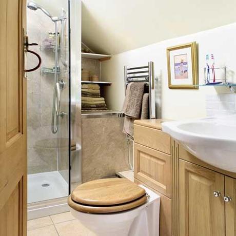Baños para departamentos pequeños - Paperblog