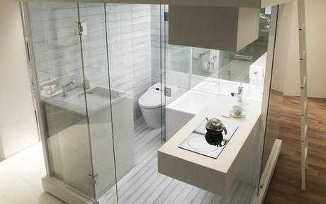 Ba os para departamentos peque os paperblog for Great bathroom designs for small spaces