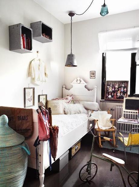 Dormitorios infantiles y juveniles con un look vintage - Dormitorios infantiles vintage ...