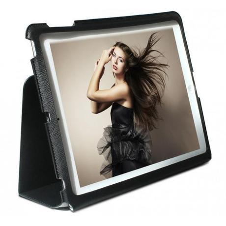 Puro funda iPad air como soporte
