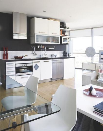 Lindas cocinas integradas con la sala paperblog for Decoracion cocinas integradas