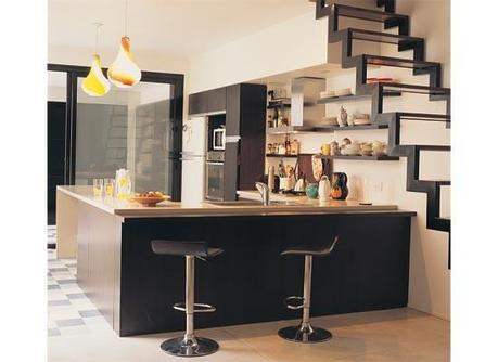Lindas cocinas integradas con la sala paperblog - Cocinas integradas ...