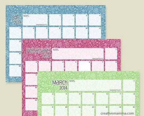 calendarios 2014 para imprimir gratis