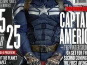 Captain America: Winter Soldier Portada Empire