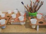 Preparacion taller juguetes Caritas Tomelloso