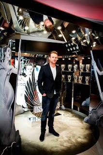 El deportista y modelo Nick Youngquest visita Barcelona tras el éxito de Invictus