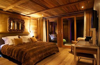 Casa chalet rustica en chamonix paperblog for Diseno de habitacion rustica