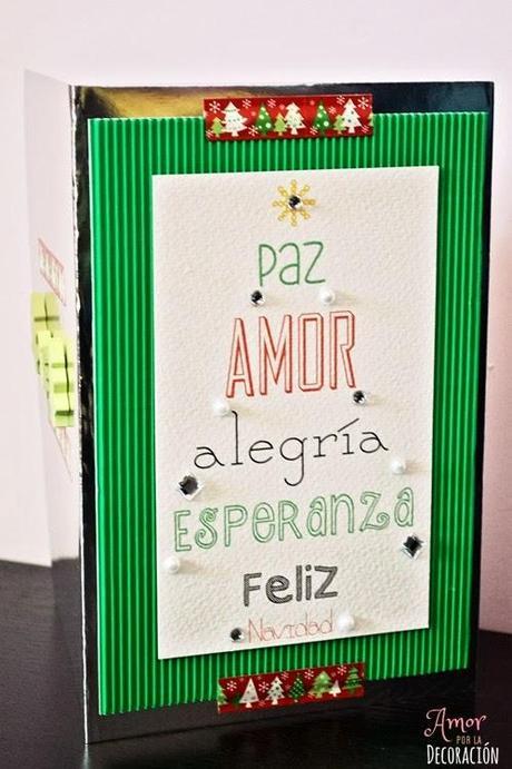 Postales Navideas Caseras. Awesome Tarjetas De Navidad Caseras Con ...