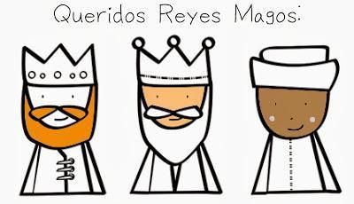 Fiesta temática: Carta a los Reyes Magos