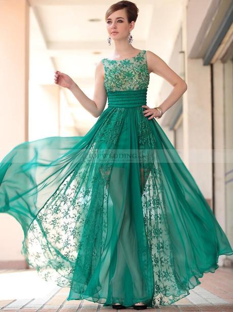 Ver vestidos de fiesta con encaje