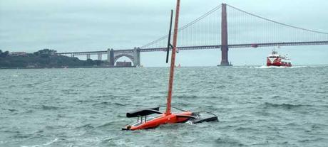 un SailDrone en San Francisco