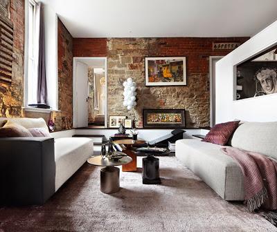 Apartamento rustico y moderno en toronto paperblog for Piso rustico moderno