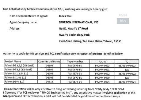El Sony Xperia E1 y Xperia E1 Dual cazados en su paso por la FCC