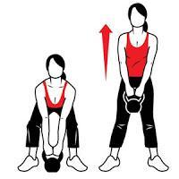 ejercicios con pesas rusas: