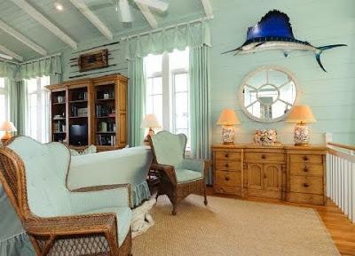 Casa rustica con decoracion marina paperblog - Cosas rusticas para decorar casa ...