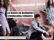 TRENDS: nuevo Burberry para Primavera 2014!