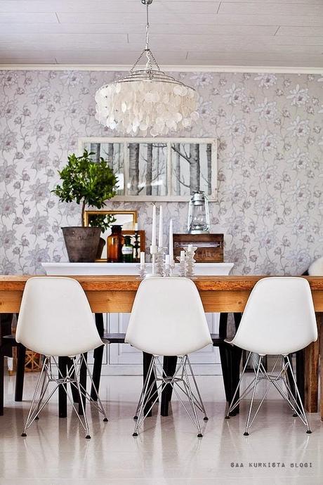 Ideas e inspiraci n de papel pintado para toda la casa paperblog - Papel pintado para recibidores ...