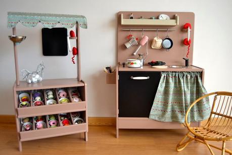 Juguetes vintage hechos a mano macarena bilbao paperblog for Cocina de madera juguete