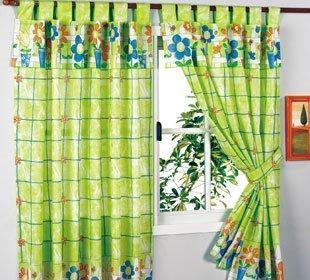 lindas cortinas para la cocina