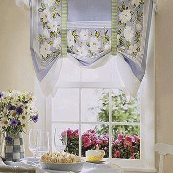 Lindas cortinas para la cocina paperblog for Cortinas de cocina fotos