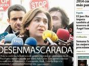 Gaceta, rueda prensa Rajoy villancico