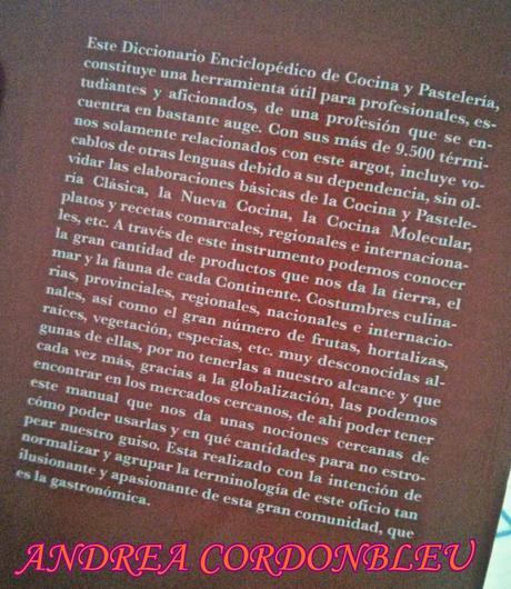 Mi cultura gastron mica terminolog a culinaria cocina y for Terminologia gastronomica pdf
