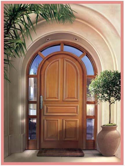Puertas estilos modelos funciones de las puertas for Estilos de puertas de madera