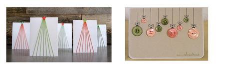 postales de navidad para hacer con nios