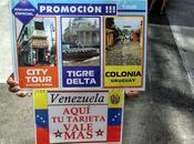 Arbolitos venezolanos calle Florida Buenos Aires
