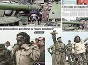 Portada País España Maduro tanque guerra