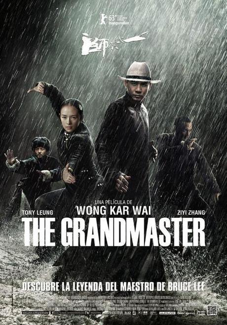 the grandmaster wong-kar-wai poster españa